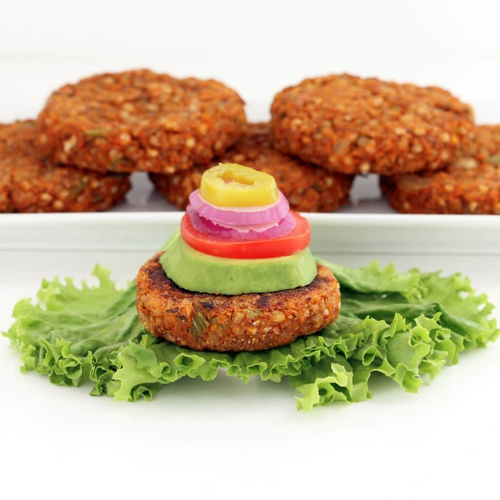 Zesty Buckwheat Burgers