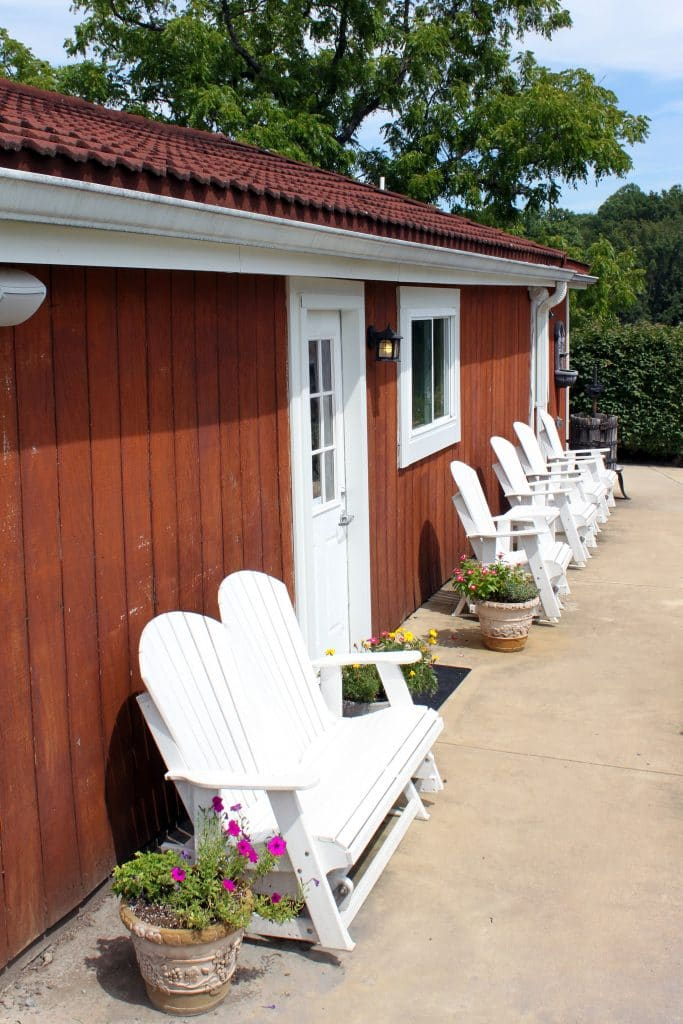 Miracle Valley Vineyard - Adirondack Chairs