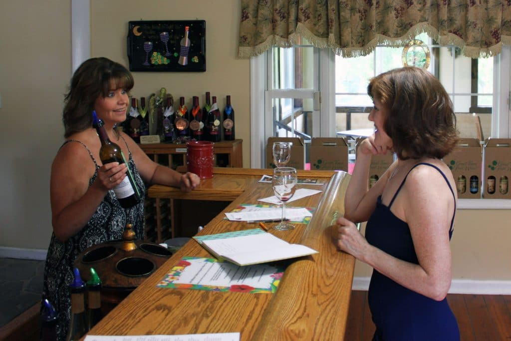Miracle Valley Vineyard - Jana and Kathy