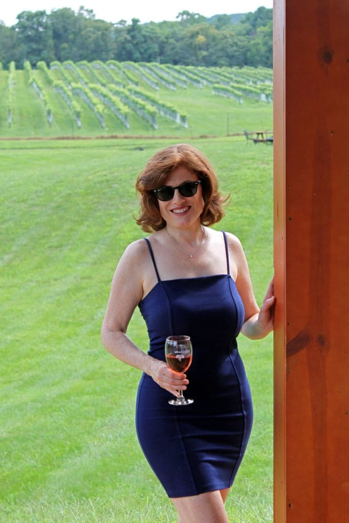 Miracle Valley Vineyard - Jana in Pavilion