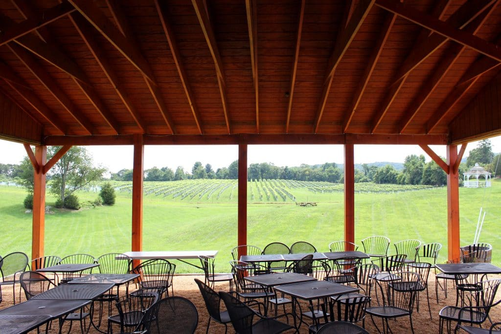 Miracle Valley Vineyard - Pavilion