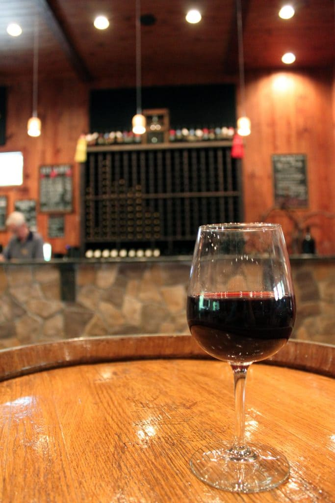 Paradise Springs Winery - Glass of 2014 Mélange
