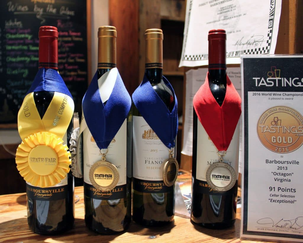 Barboursville Vineyards - Award Winners