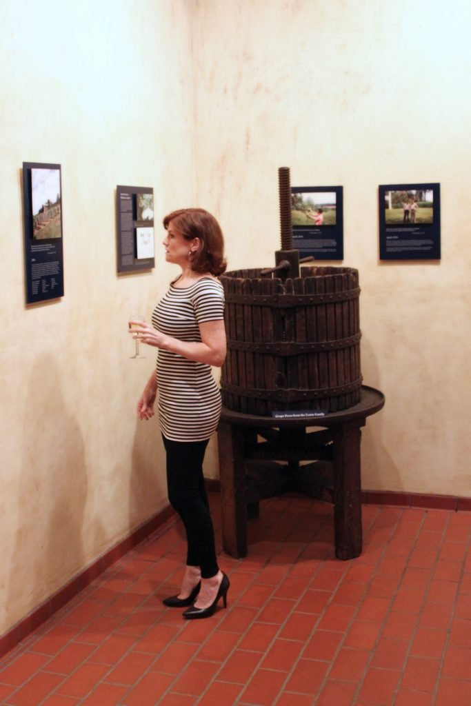 Barboursville Vineyards - Gallery in Octagon Cellar