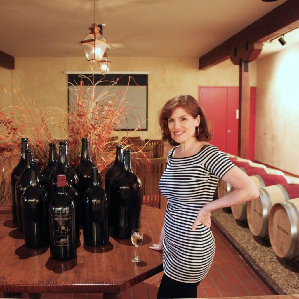Jana in Octagon Barrel Room