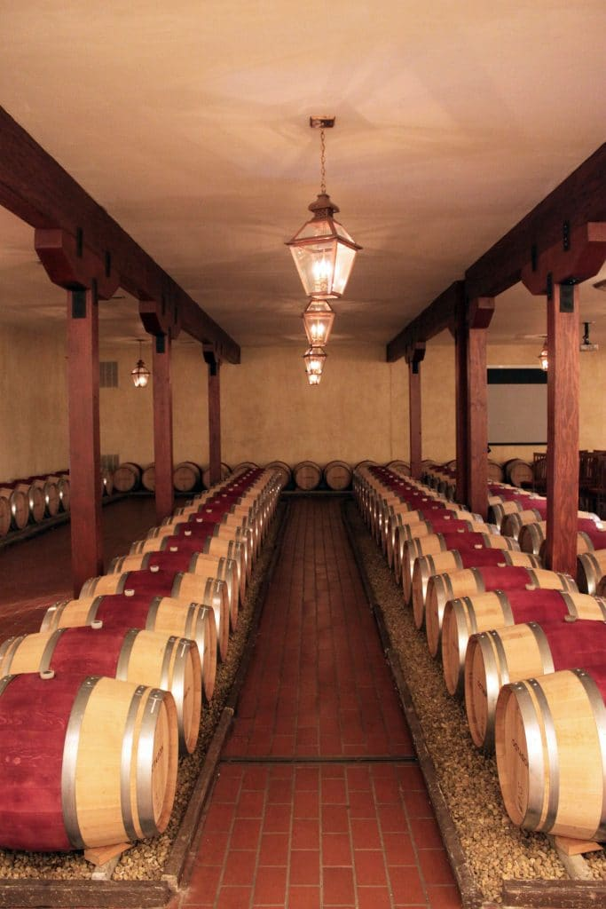 Barboursville Vineyards - Octagon Barrel Room