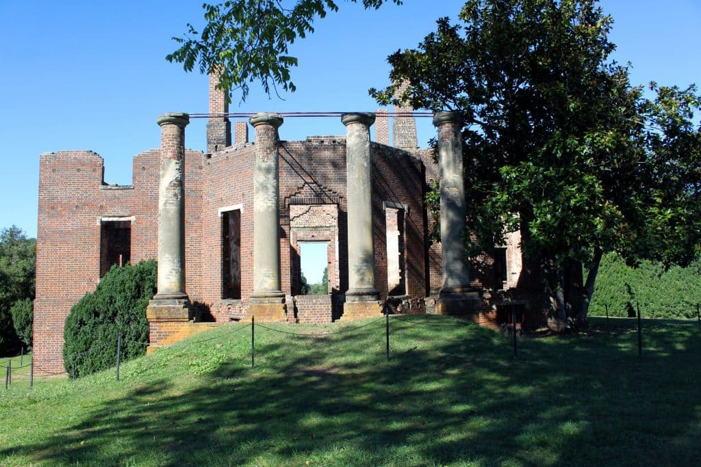 Barboursville Vineyards - Ruins of Barboursville Mansion