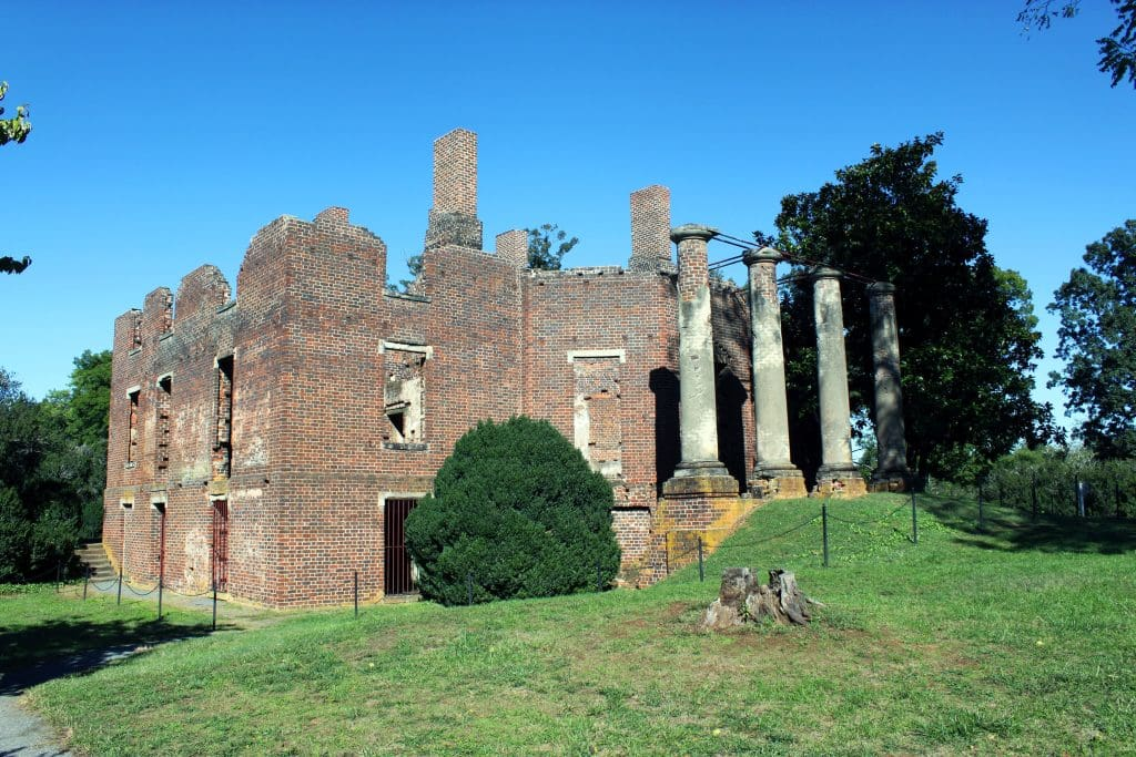 Barboursville Vineyards - Side of Ruins