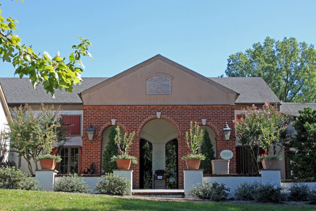 Barboursville Vineyards - Tasting Room Entrance