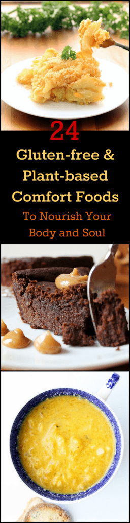 24 Gluten-free & Plant-based Comfort Foods Collage