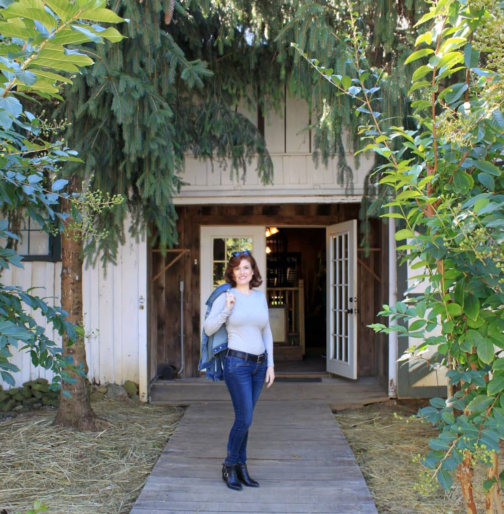 Aspen Dale Winery at the Barn - Entrance to Tasting Room