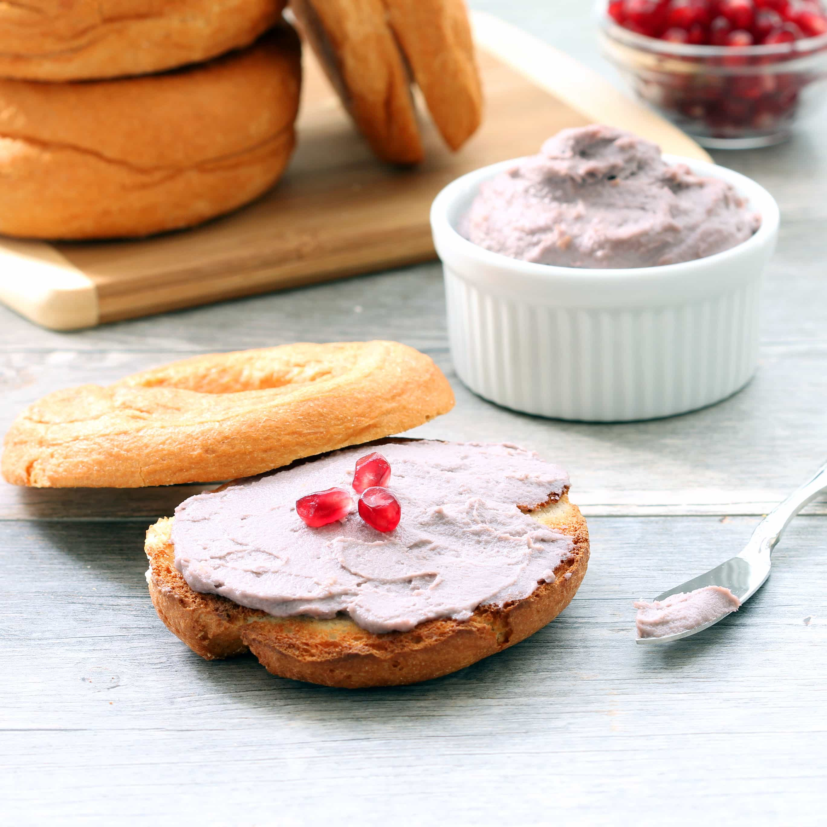 Pomegranate Vegan Cream Cheese (Gluten-free, Plant-based, Soy-free, RSF)