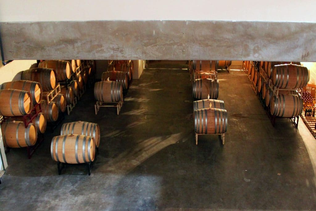 Prince Michel Winery - Barrel Room