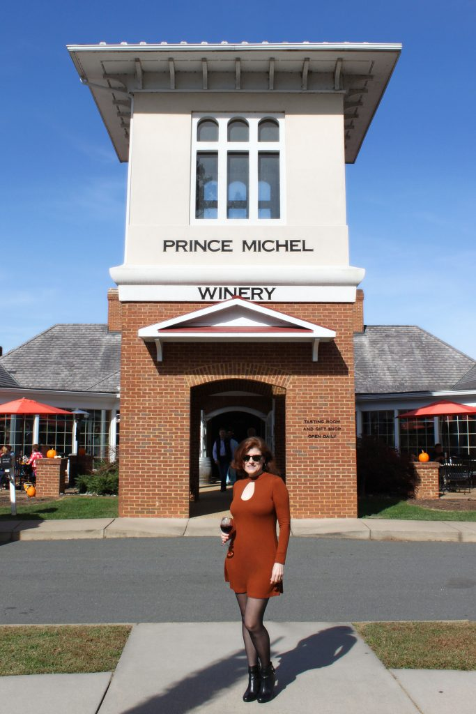 Prince Michel Winery - Entrance