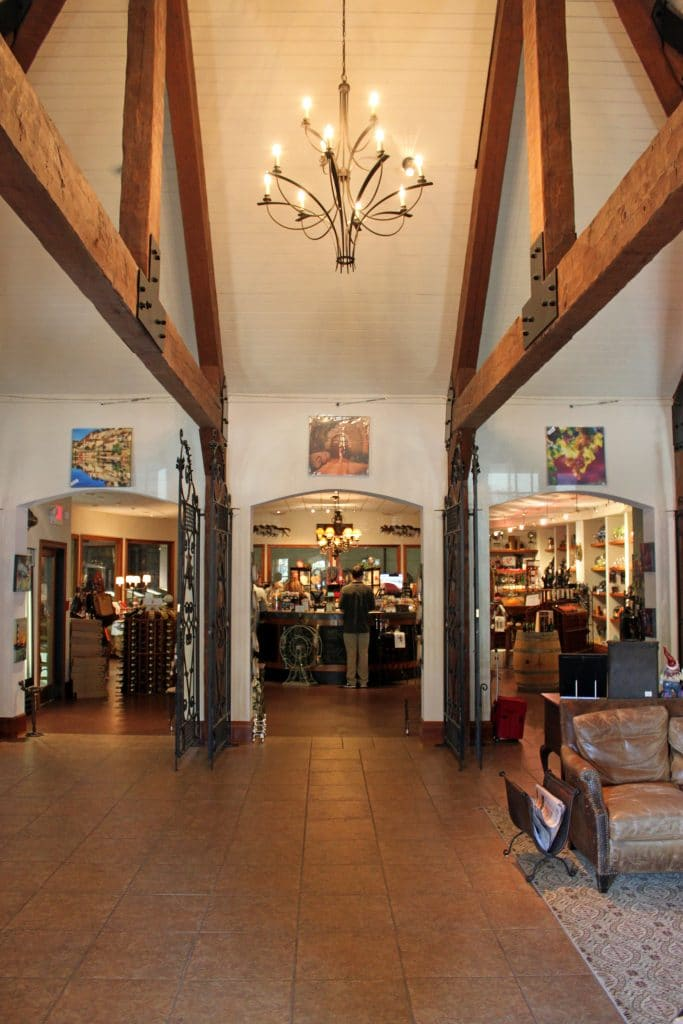 Prince Michel Winery - Entry Hall