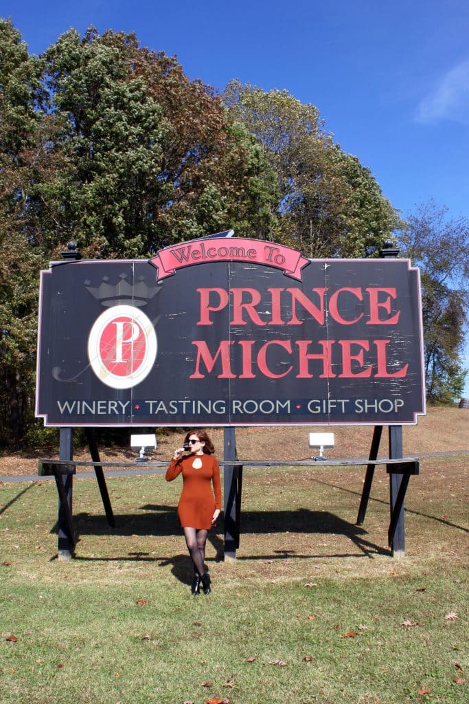 Prince Michel - Welcome Sign