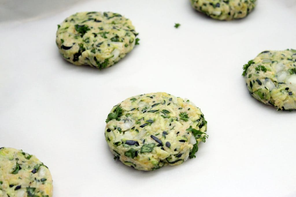 Vegan Zucchini Cakes - Ready to Bake