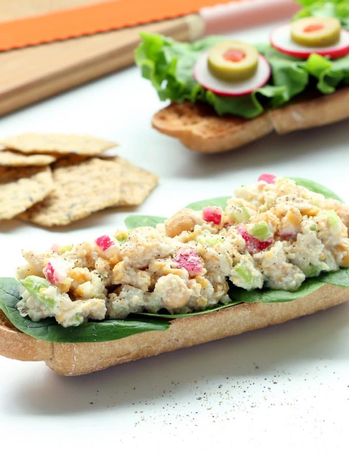 Chickpea Chicken Salad