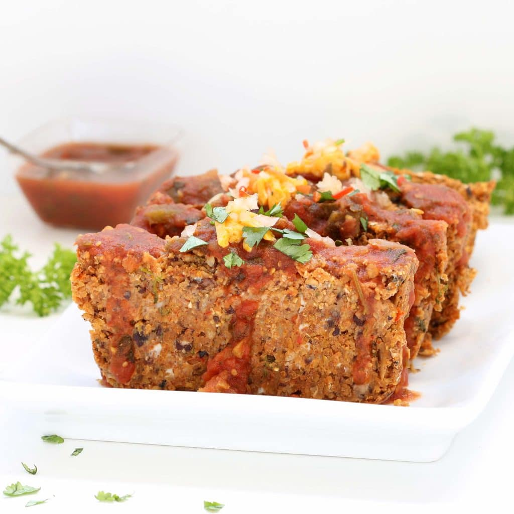Mexican Vegan Meatloaf