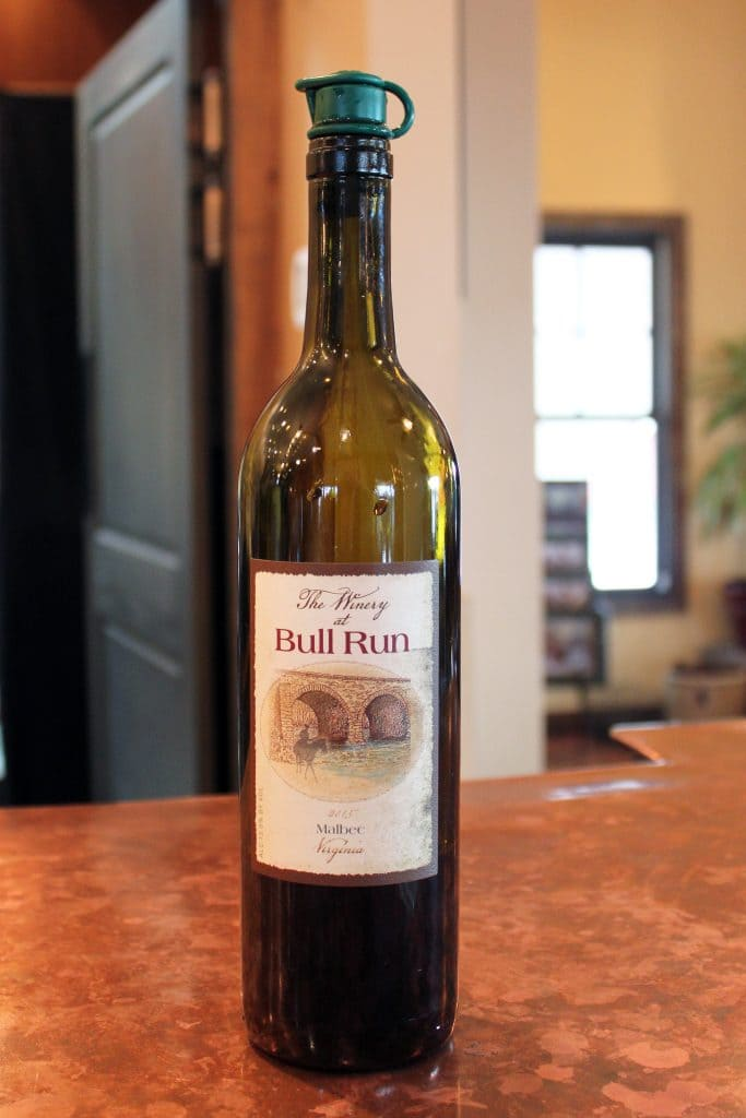 Winery at Bull Run - 2015 Malbec