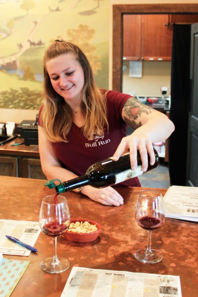 Winery at Bull Run - Grace Pouring 2015 Malbec