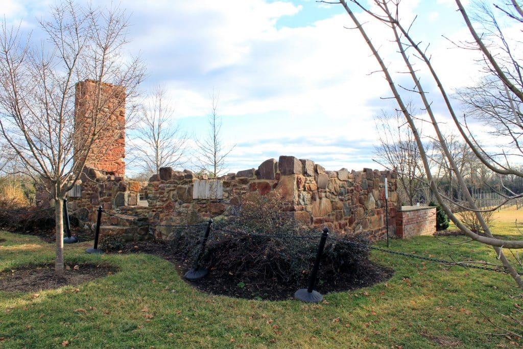 Hillwood Mansion Remains