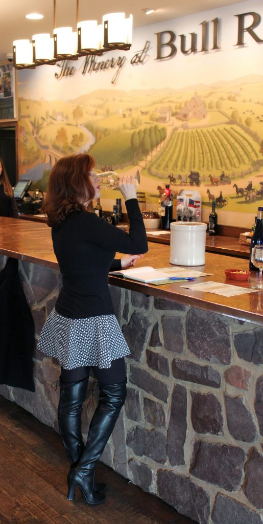 Winery at Bull Run - Jana Tasting 2014 Barrel Aged Chardonnay