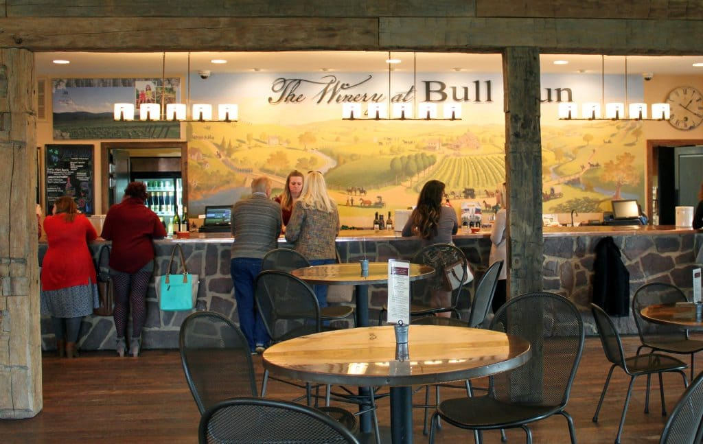 Winery at Bull Run - Tasting Area