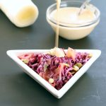Roasted Leek Potato Slaw