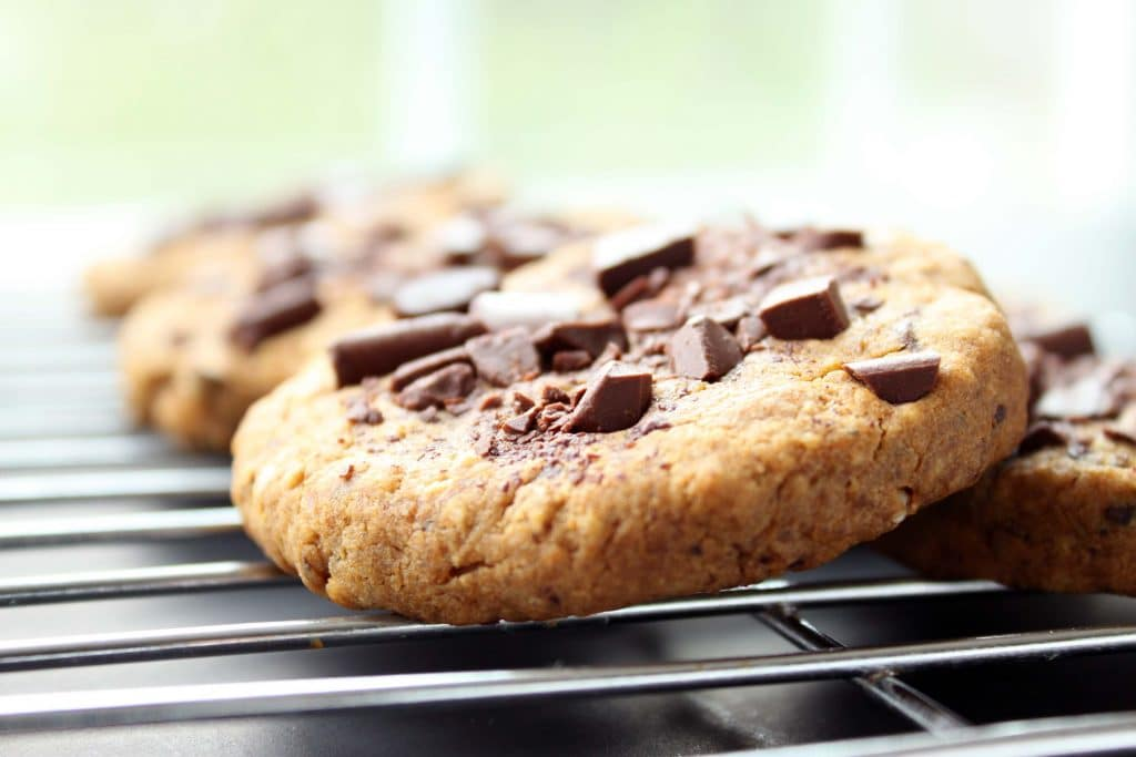 Ultimate Chocolate Chip Cookies - Cooling Cookie