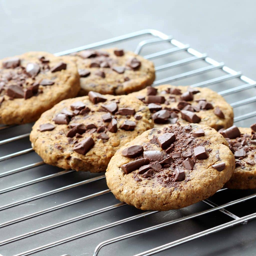 Ultimate Chocolate Chip Cookies - Cooling Cookies
