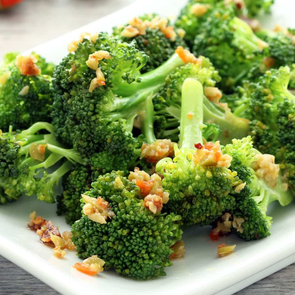Broccoli with Olive Fig Tapenade