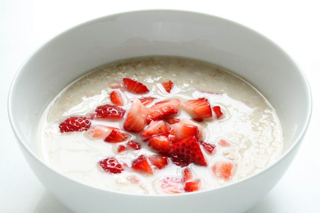 Strawberry Shortcake Breakfast Bowl - Ready to Cook