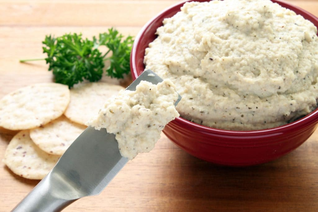 Vegan Ricotta Cheese - Spreading
