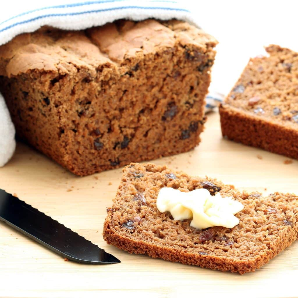 Gluten-free Cinnamon Raisin Bread (Vegan, Nut-free ...
