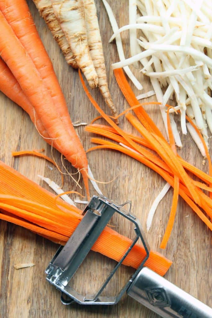 Detox Root Salad - Julienned Carrots
