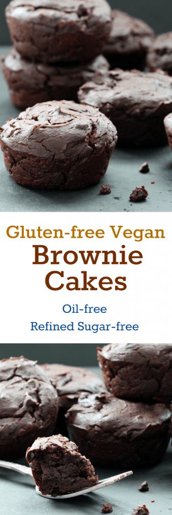 Gluten-free Vegan Brownies Collage