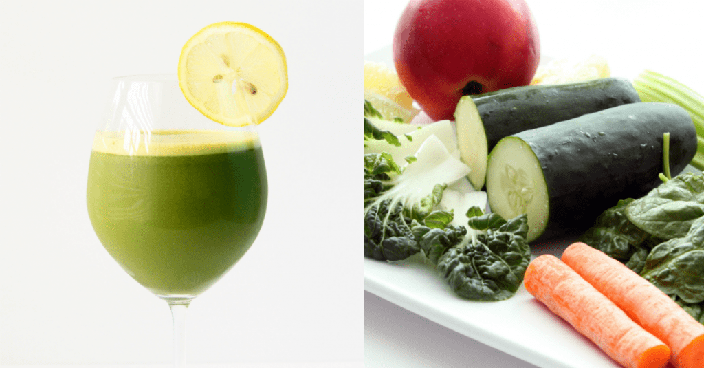 Bounce Back Detox Smoothie Collage