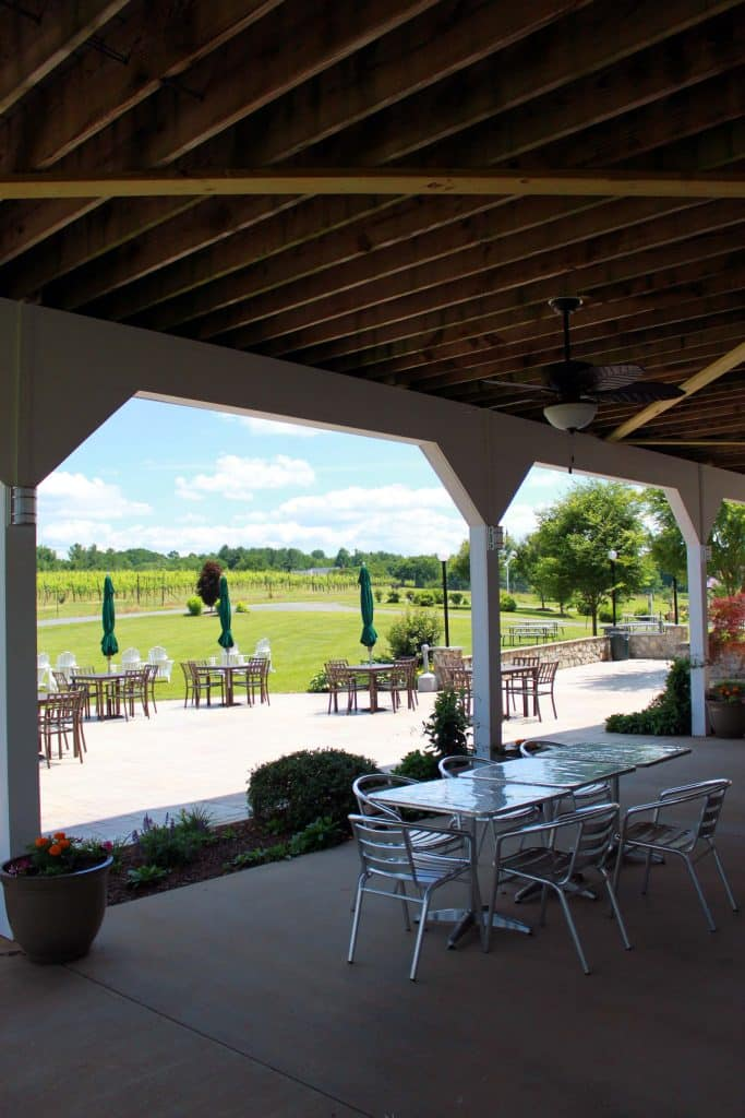 Narmada Winery - Covered Outdoor Seating