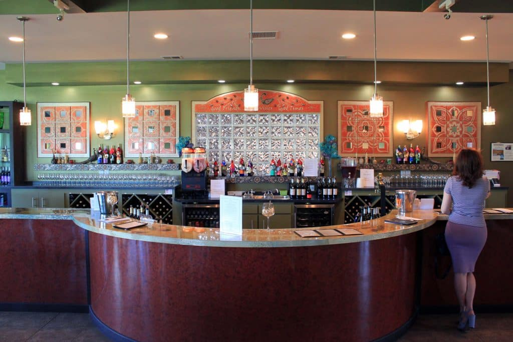Narmada Winery - Full Tasting Bar