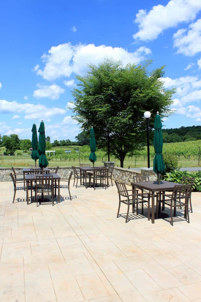 Narmada Winery - Side Vineyard Patio