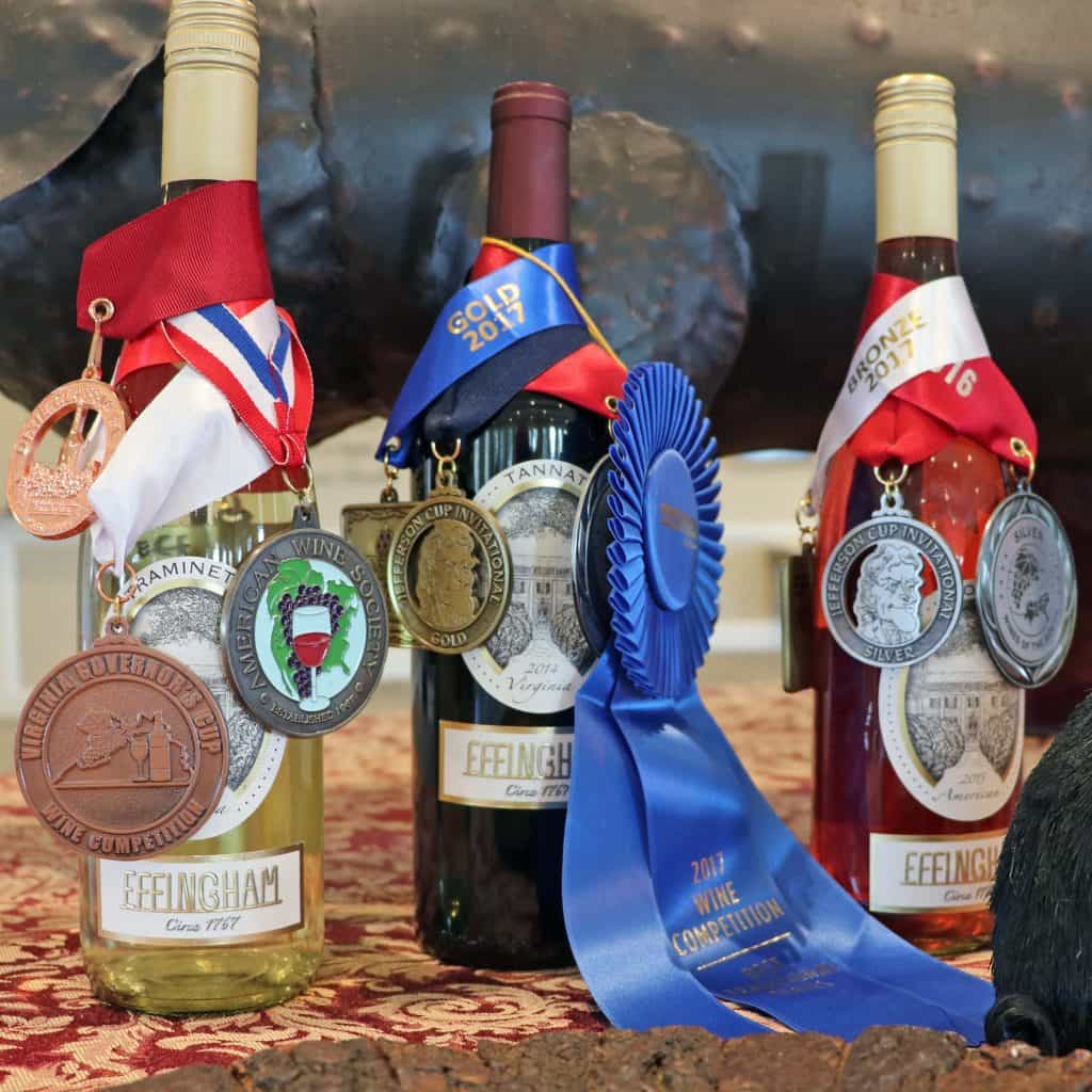 Effingham Manor Winery - Awards