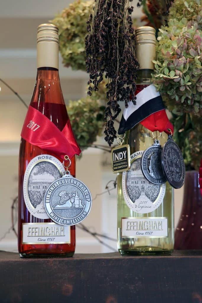 Effingham Manor Winery - Award Winners