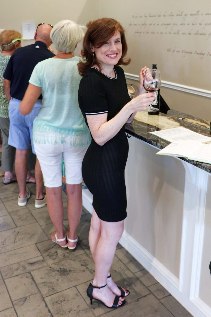 Effingham Manor Winery - Jana at Main Tasting Bar