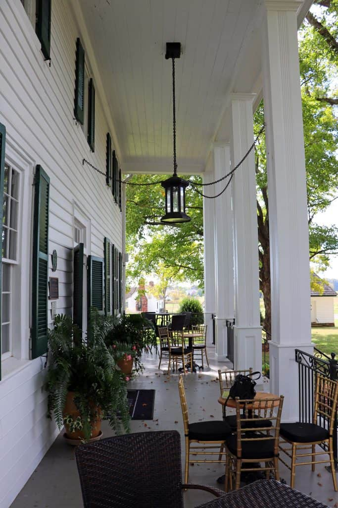 Effingham Manor Winery - Manor Front Porch