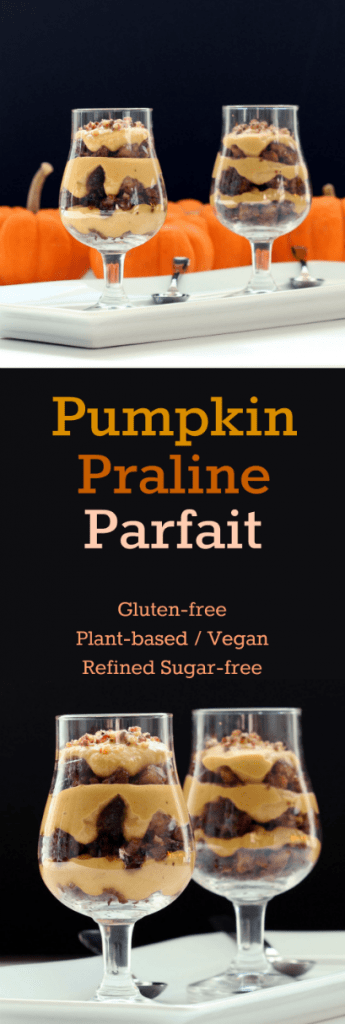 Pumpkin Praline Parfait Collage