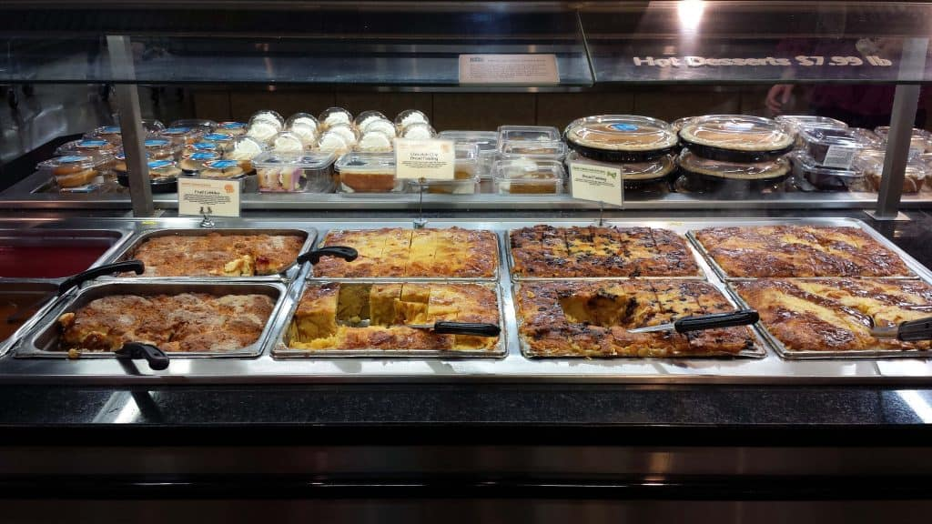 Whole Foods Bread Pudding Bar