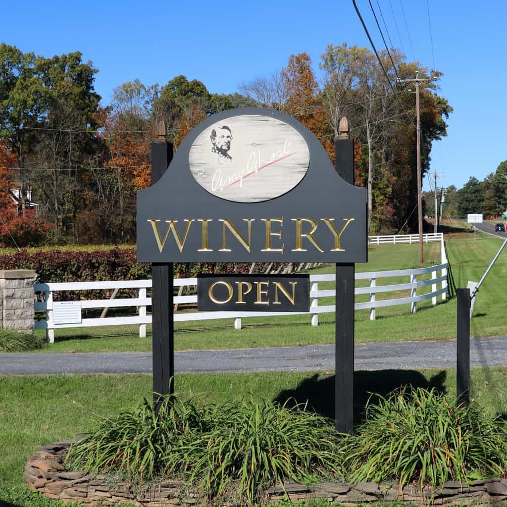 Gray Ghost Winery and Vineyards (Amissville, Virginia)