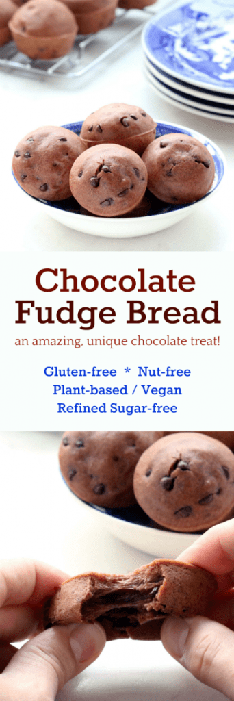 Chocolate Fudge Bread Collage