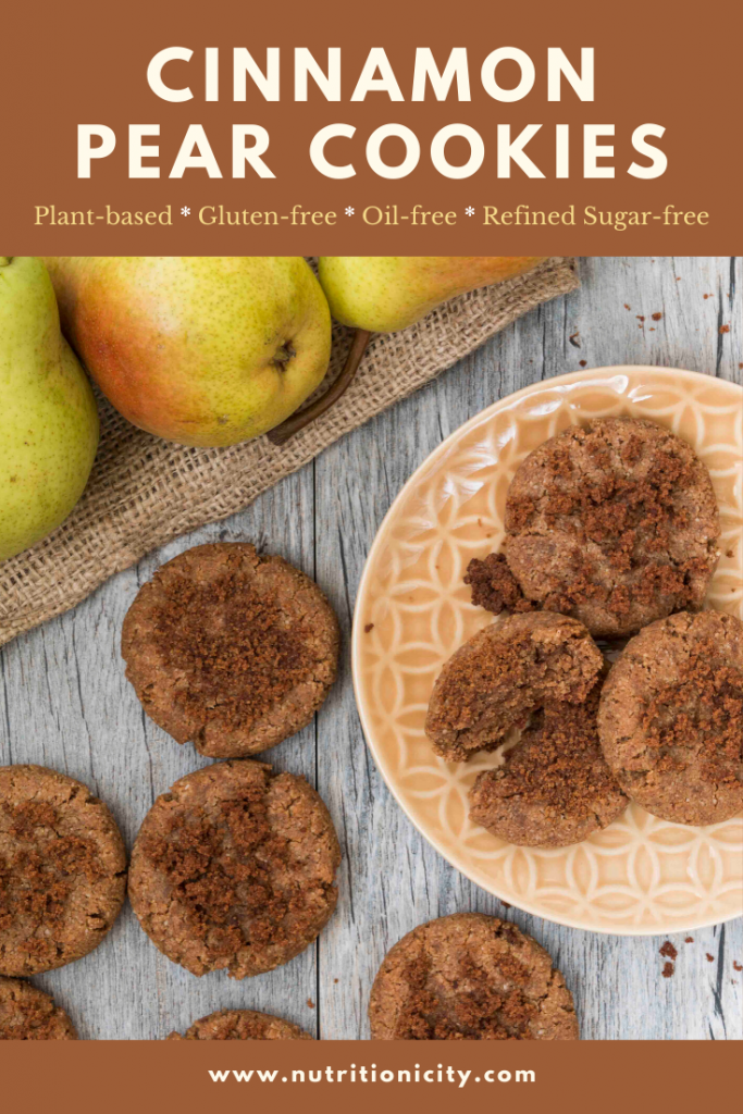 Cinnamon Pear Cookies pin